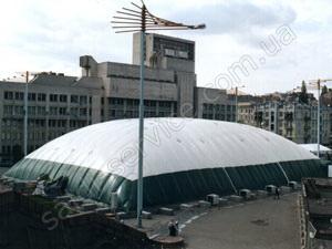 Купол пресс-центра «Евровидение-2005»