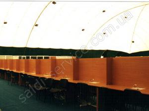 Купол пресс-центра «Евровидение-2005» внутри