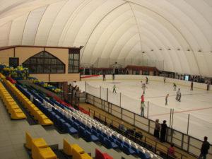 Критий льодовий стадіон