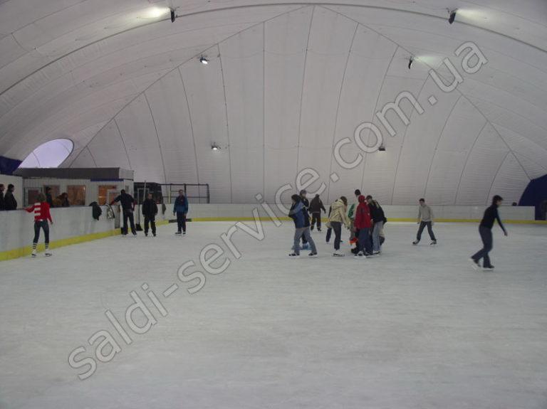 Ледовый каток «Пингвин» внутри