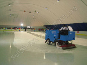 "Ice rink ""Pole-2"" inside"