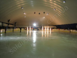 "Ice stadium ""Baburki"" inside"