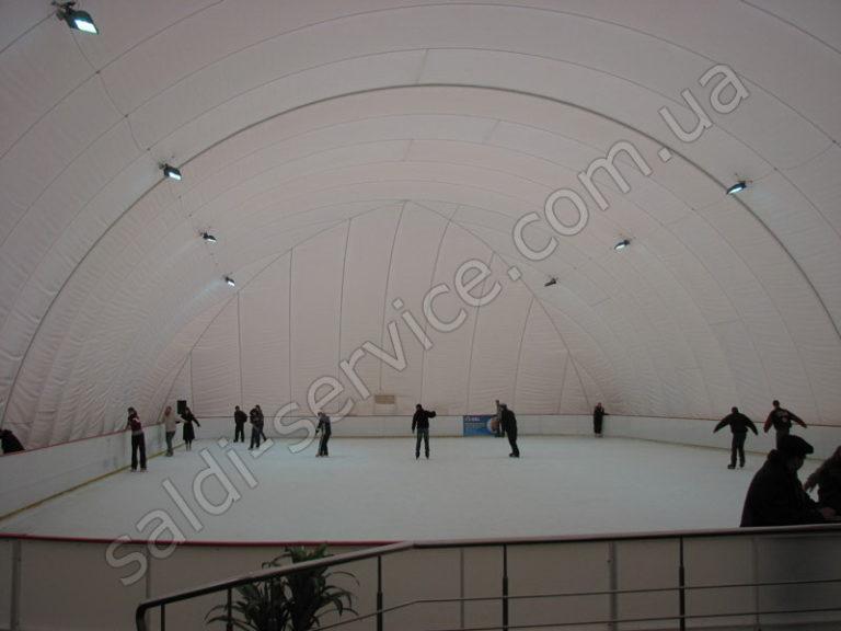 Ледовый стадион «Слайз» внутри