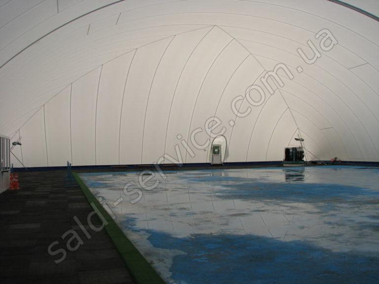 Ледовый стадион в Киеве внутри
