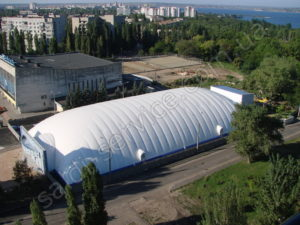 Ice Stadium in Nikolaev