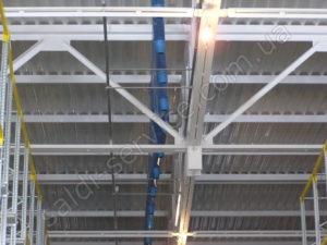 Монтаж вентиляції на складах кондитерської фабрики «Конті»