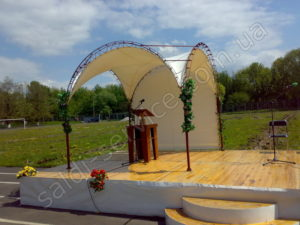 Tent in Kiev