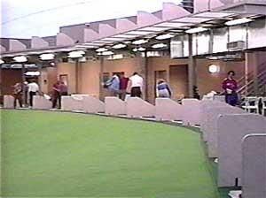 Площадки для гольфа под воздухоопорной конструкцией