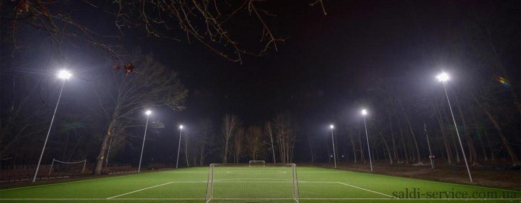 Спортивне світлодіодне освітлення