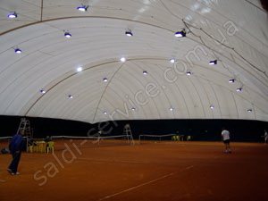"Tennis club ""Courts on the hem"" inside"