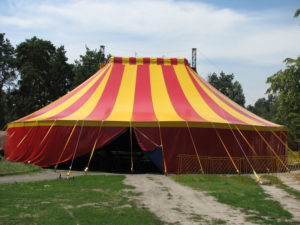 Тентове накриття для цирку
