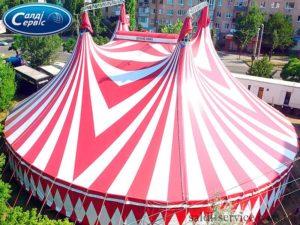 Тентовий купол Цирк Шекера
