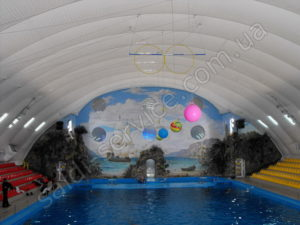 "Dolphinarium ""Nemo"" in Kharkov inside"