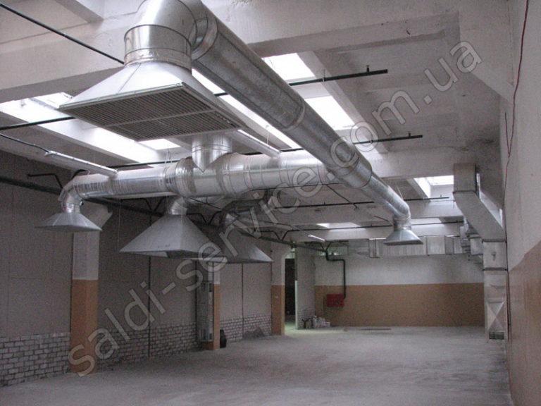 Фабрика товаров для дома «Эргопак» вентиляция