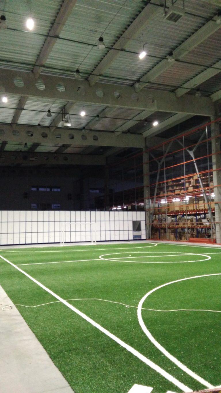 Футбольное поле Samsung