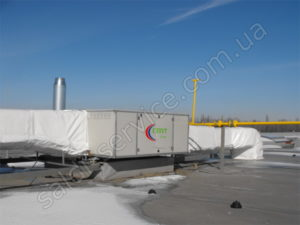 Food storage complex heating
