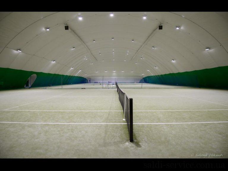 LED освещение спортивного комплекса Меридиан