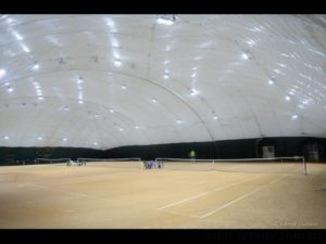 "LED lighting of tennis courts ""Courts on the Hem"""