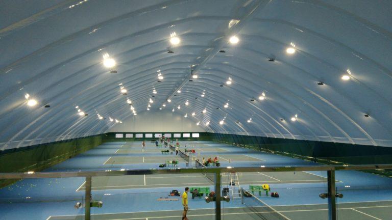 LED освещение теннисных кортов прожекторами Киев