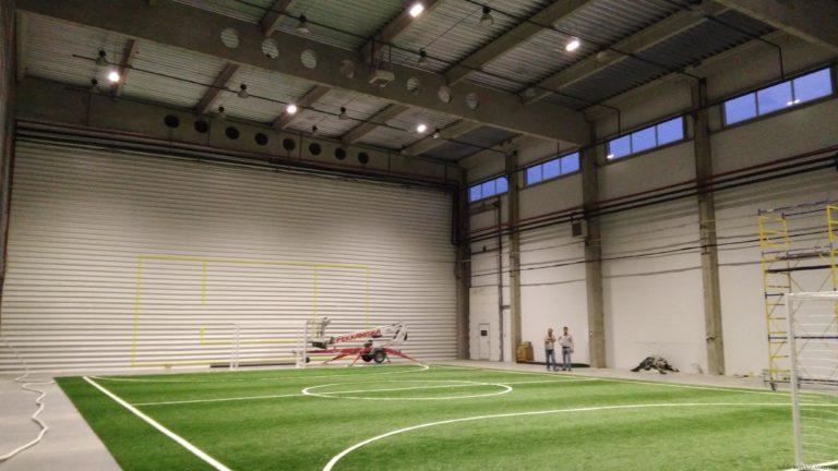 LED светильники для футбольного поля