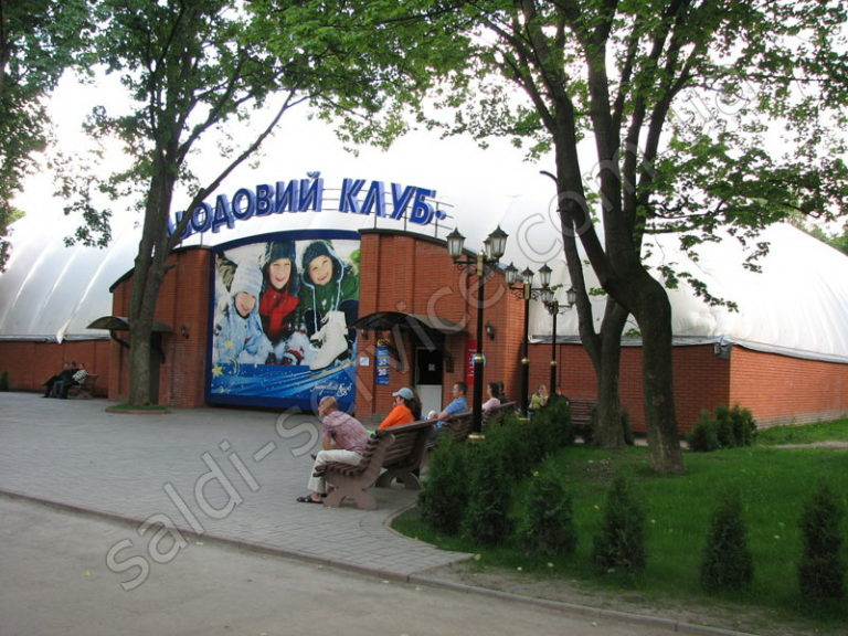 Ледовый каток в парке им. Горького