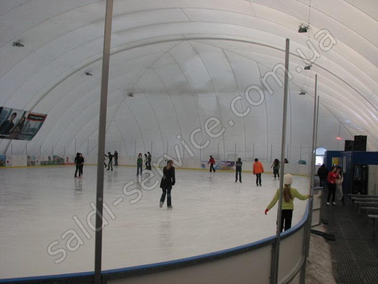Ледовый стадион «Марабушта» внутри