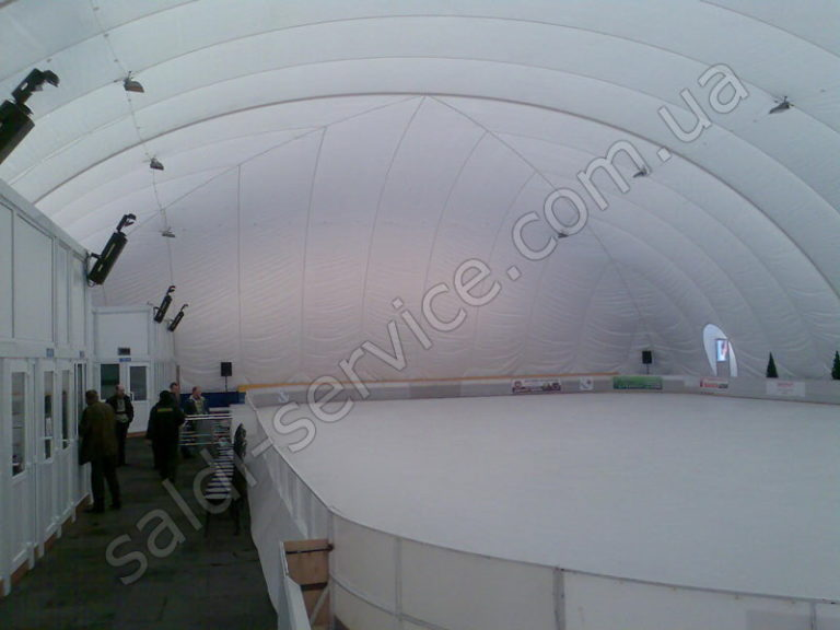 Ледовый стадион «Пингвин» внутри