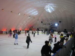 "Ice stadium ""Umka"" inside"