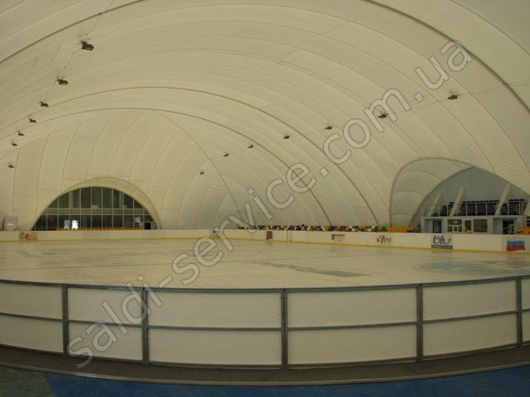 Ледовый стадион в Тирасполе внутри