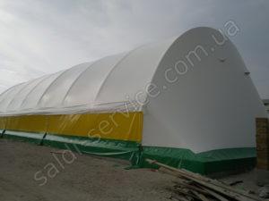 Металоконструкція з тентовим покриттям в Коблево