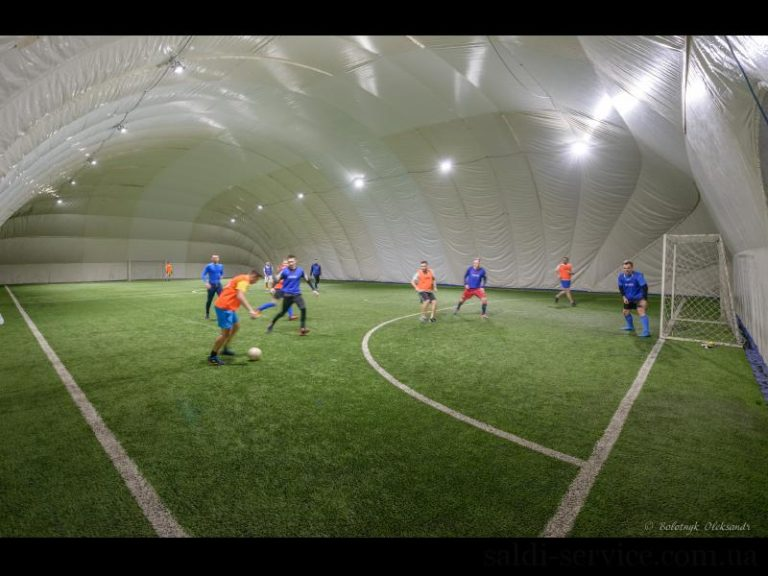 Освещение мини-футбольного поля в городе Киеве
