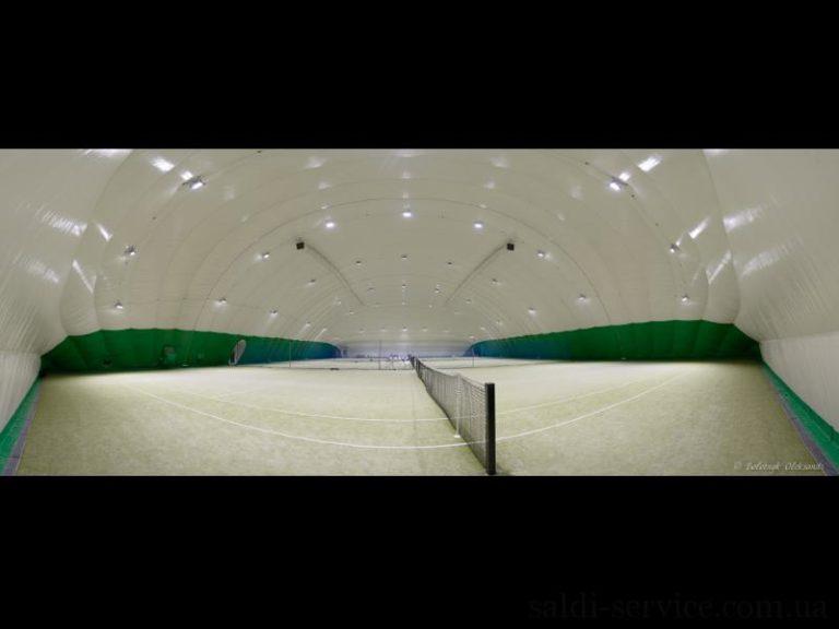 Освещение спортивного комплекса Меридиан