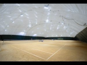 "Lighting for tennis courts ""Courts on the Hem"""