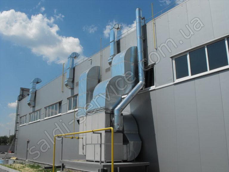 Производственные и складские помещения вентиляция