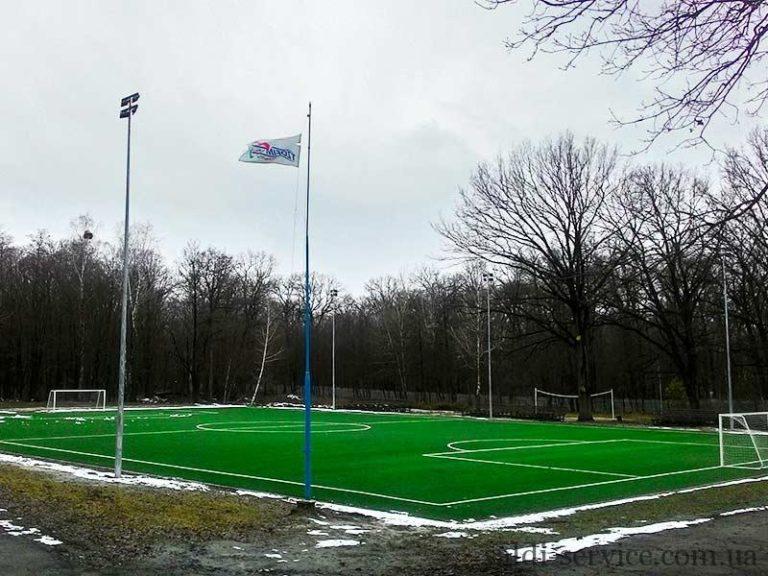 Разработка освещения футбольного стадиона в городе Буча