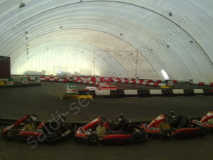 Entertainment center in Moscow karting