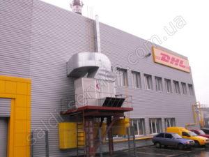 DHL logistics company warehouses