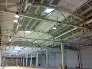 DHL logistics company warehouses inside