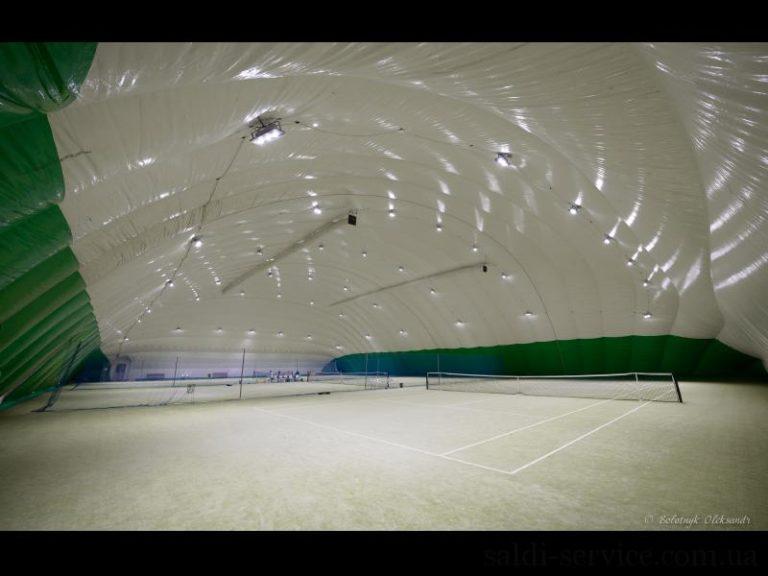 Светодиодное освещение спортивного комплекса Меридиан