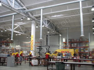 DHL bonded warehouses