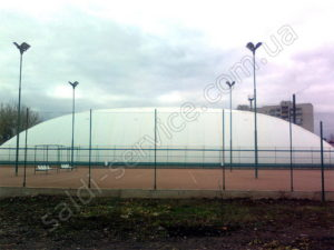 Tennis courts in Lugansk