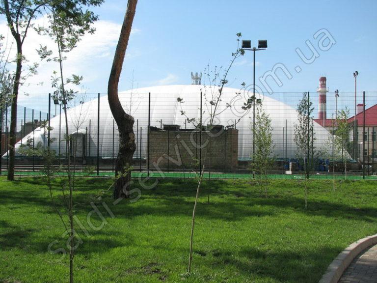 Теннисные корты в районе «Чайка» ВОК