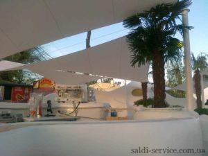 Awning extension club Ibiza