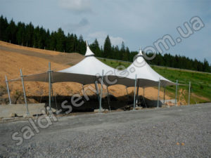 Awning extension in Bukovel
