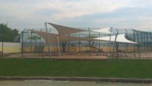 Тентові архітектурні розтяжки «Біопарк»