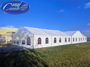 Awning pavilions