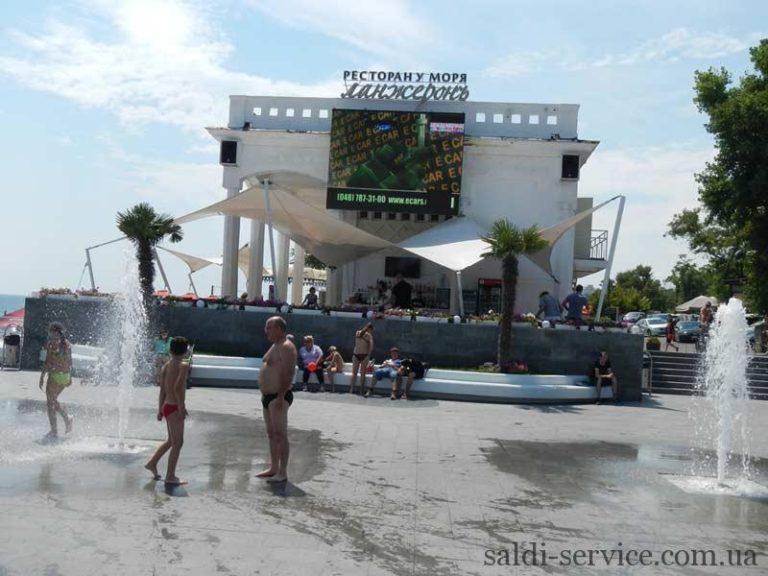 Тентовые растяжки пляж Одесса