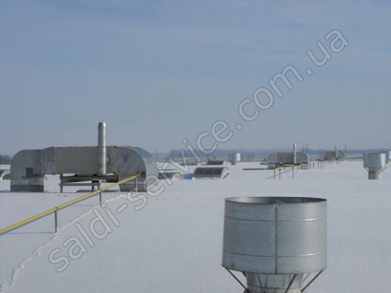 Торгово-складской комплекс RUFLEX крыша