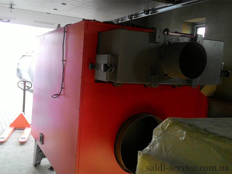 Твердопаливний теплогенератор на пеллетах ціна