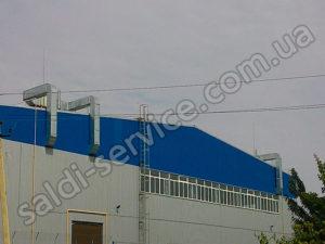 Установка вентиляції на СТО і складських приміщеннях
